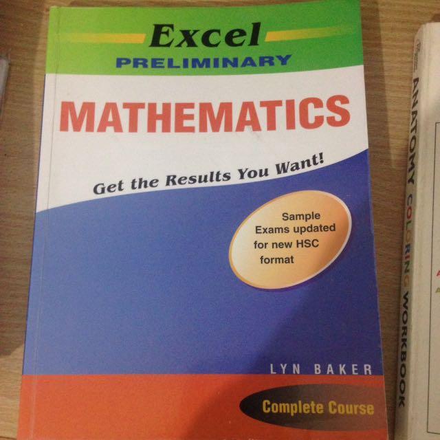 Excel prelim Mathematics Textbook