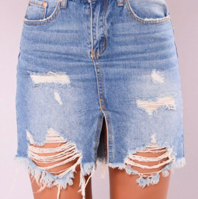 Fashion Nova Needing Love Skirt