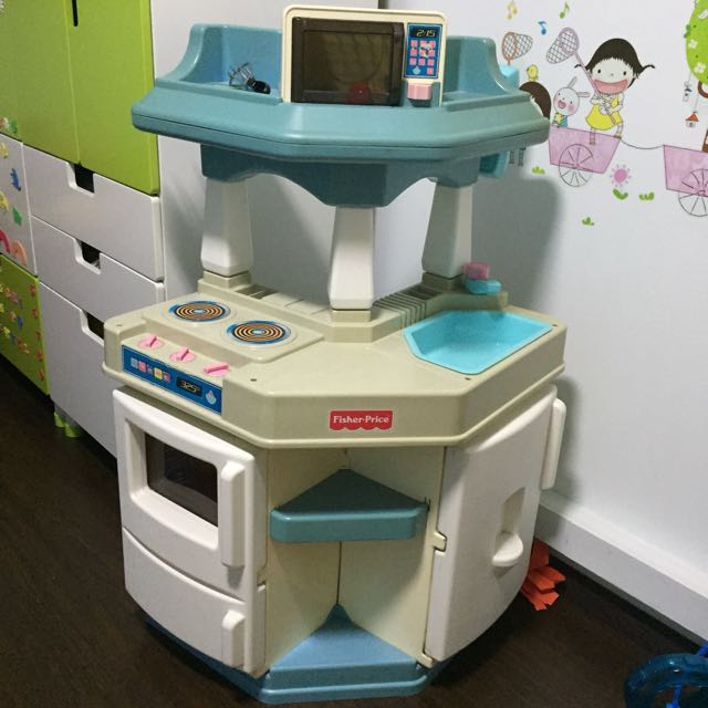 Fisher Price Kitchen Set Babies Kids Toys Walkers On