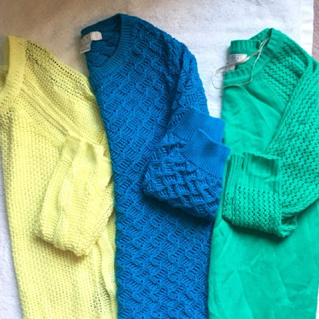 Forever 21 Knit Sweaters