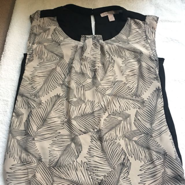 Forever 21 Printed Tank Top