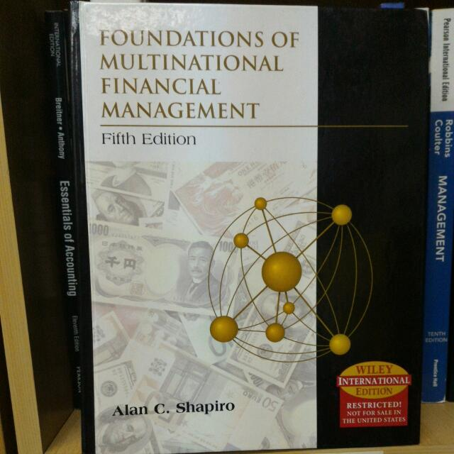 FOUNDATION OF MULTINATIONAL FINANCIAL MANAGMENT ( Hardcover )