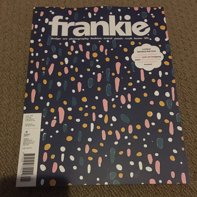 Frankie issue 81 (one off big issue w/ calendar and wrapping paper included)