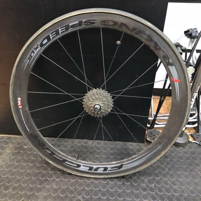Fulcrum Racing Speed Xlr Dark Label Tubular Bicycles Pmds Bicycles On Carousell