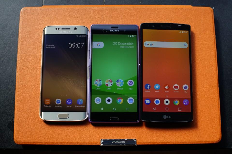 Galaxy S6 Edge, LG G4 Dual SIM, Xperia Z3