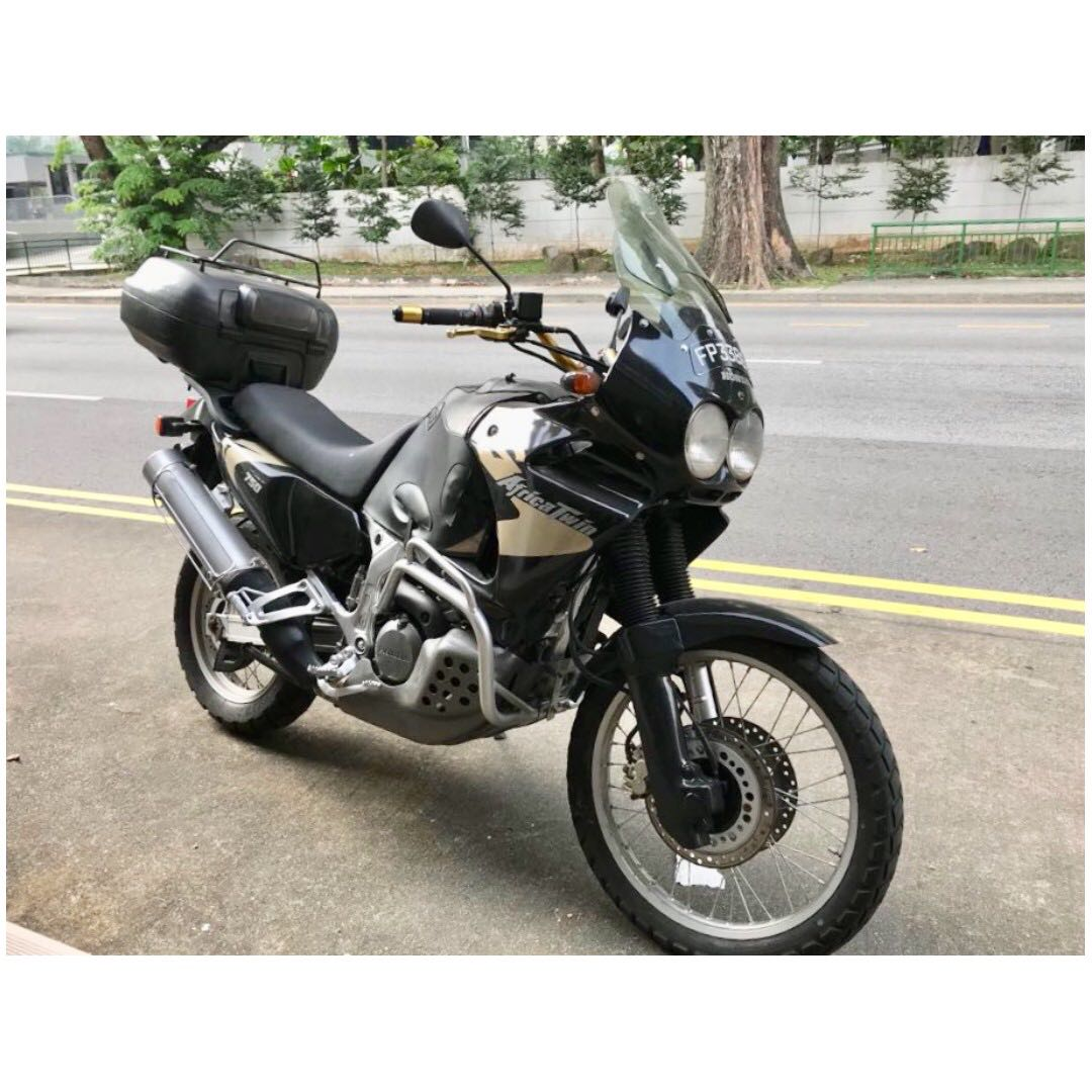honda xrv africa twin 750 for sales motorbikes motorbikes for sale class 2 on carousell. Black Bedroom Furniture Sets. Home Design Ideas