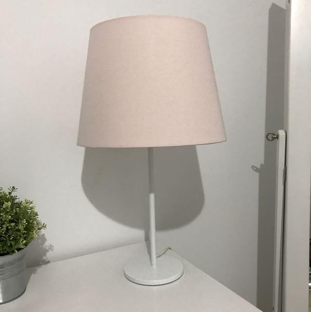 Ikea Pink Lamp