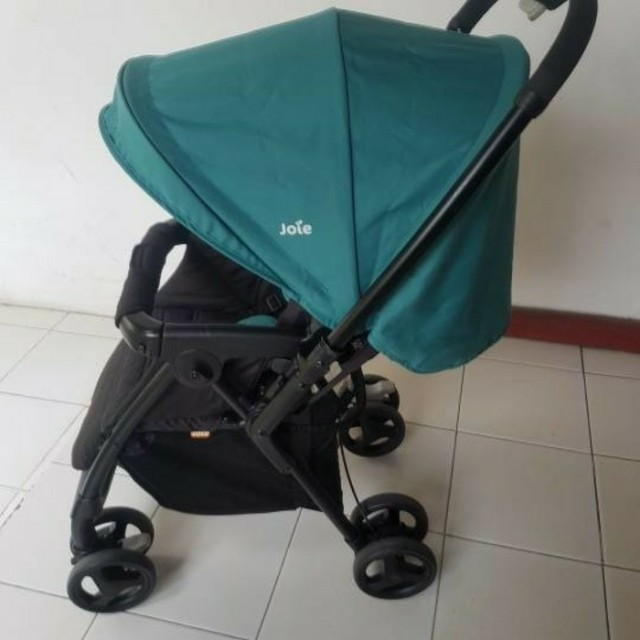 Joie Mirus Mothercare Stroller Newborn Kereta Bayi Green Jade Turquoise Tosca