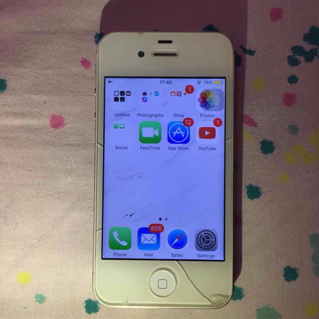 JUAL CEPAT IPHONE 4S 16GB MURAH