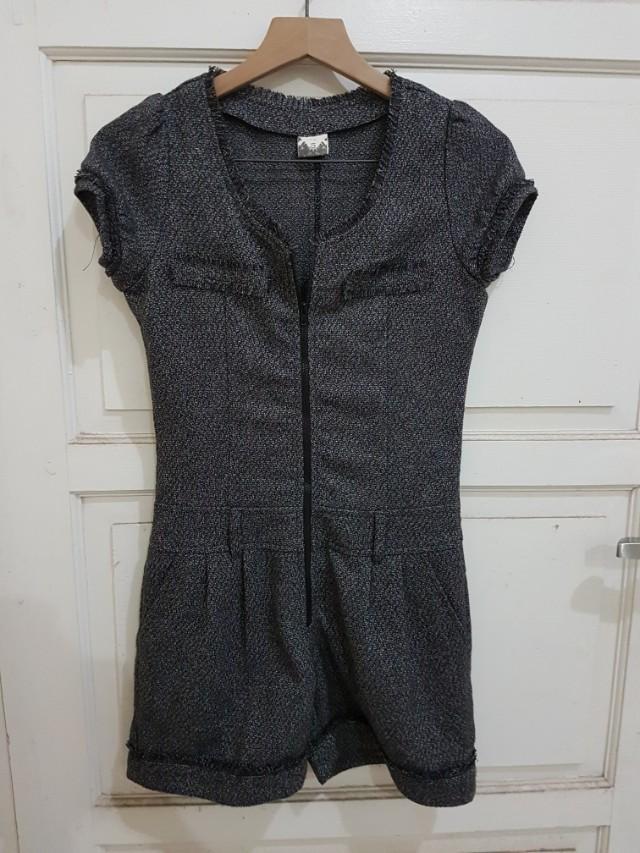 Jumpsuit tweed