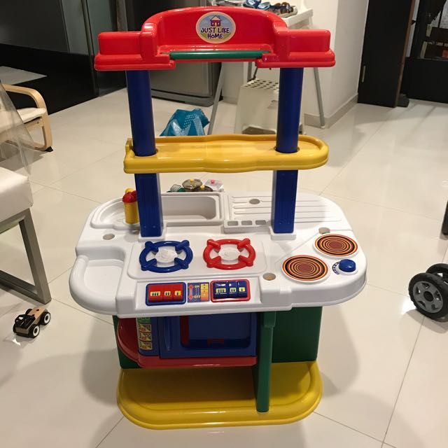 Just Like Home Kitchen Set Toys R Us Babies Kids Toys