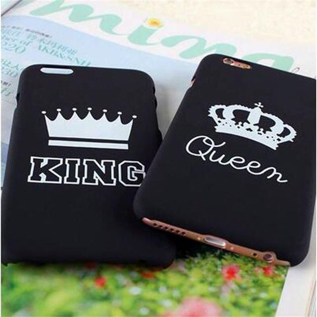 King & Queen Iphone Case