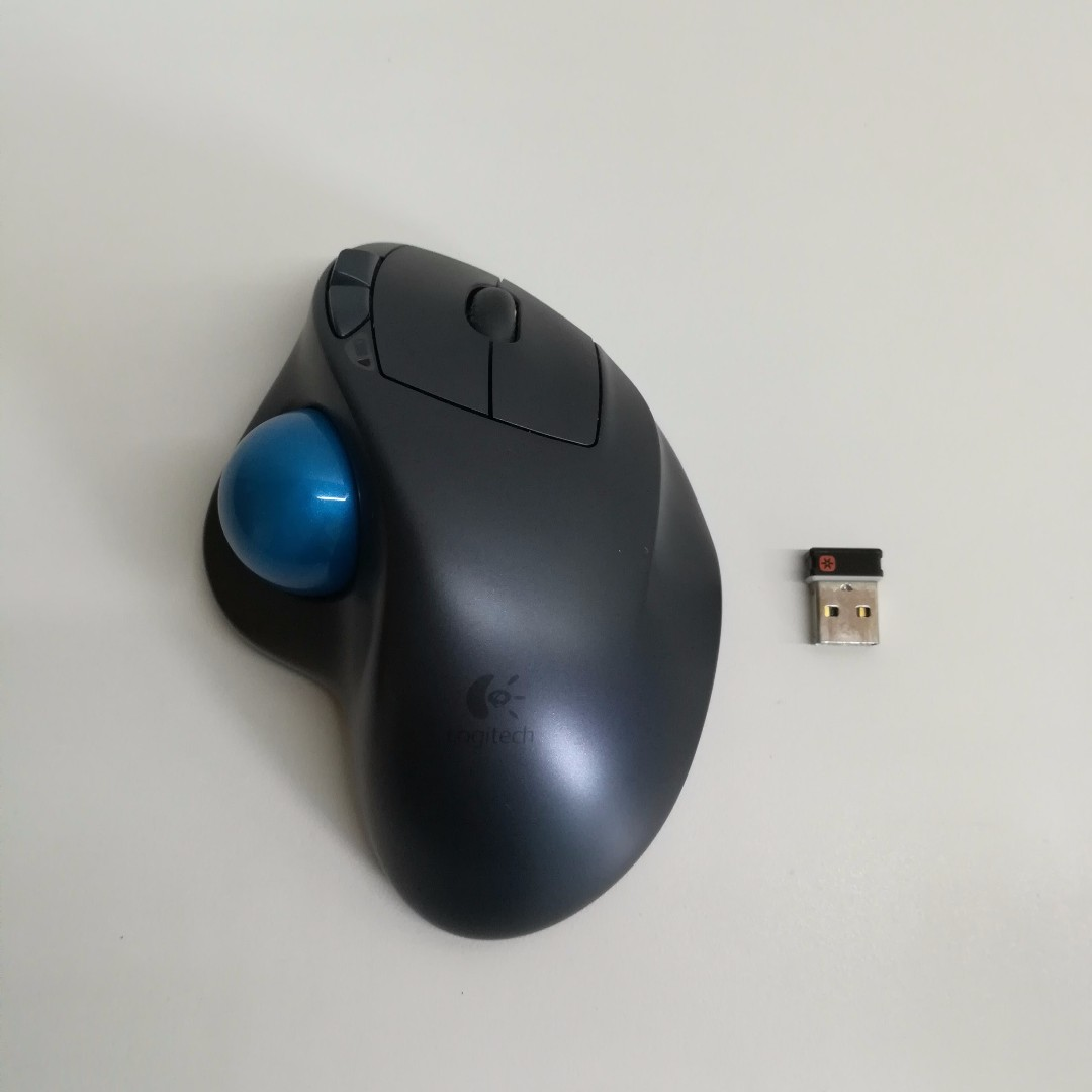 31a5b5143e4 Logitech Wireless Trackball M570 with Unifying Receiver, Electronics ...