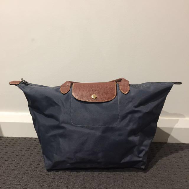Longchamp Le Pliage Medium Nylon Top Handle