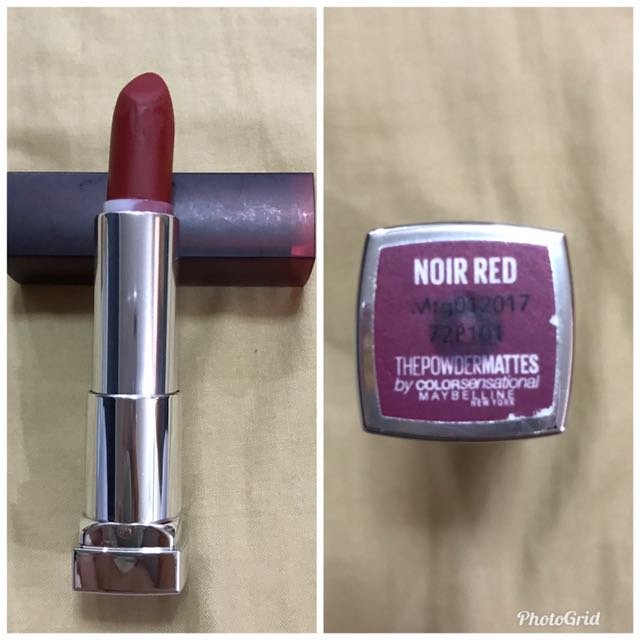 Maybelline - The Powder Mattes - Noir Red