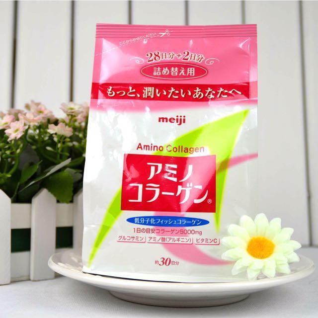 日本代購✈️meiji 明治膠原蛋白粉