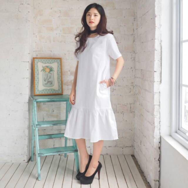 Midi simple dress