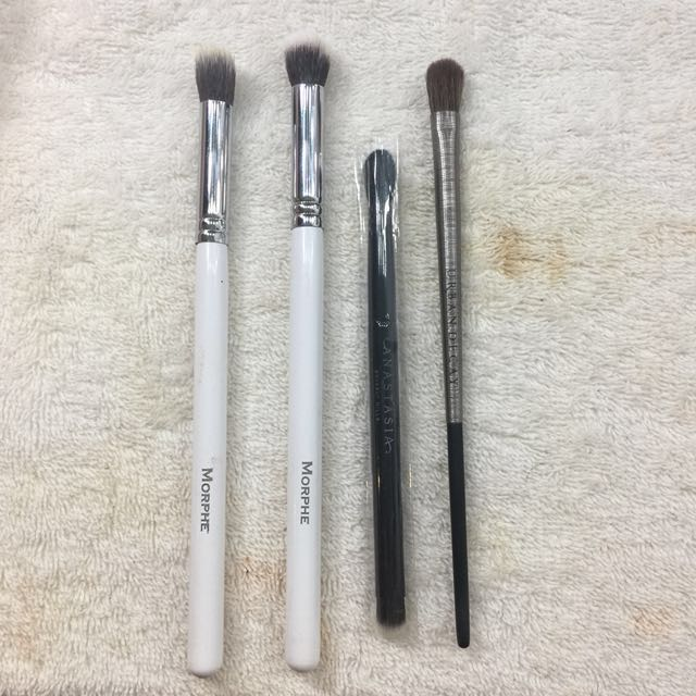 Morphe & Urban Decay Eyeshadow Brushes