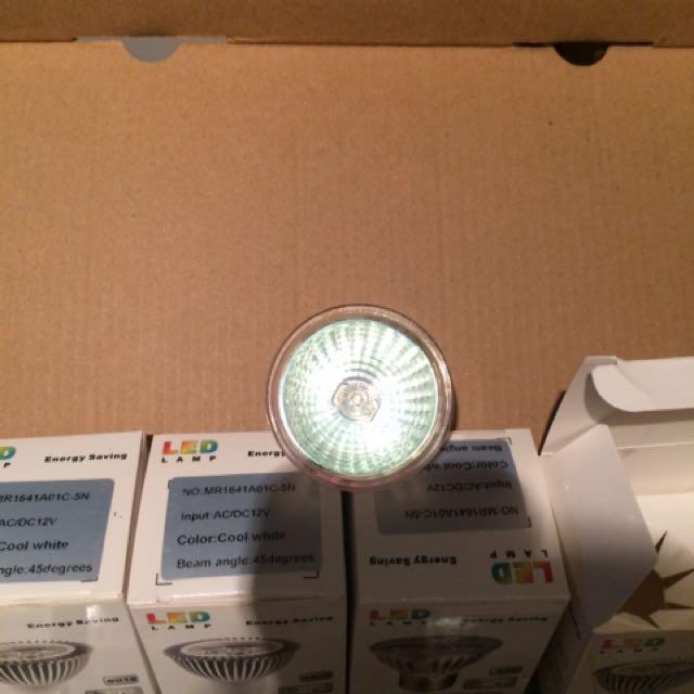 MR16 12V 50W bulbs