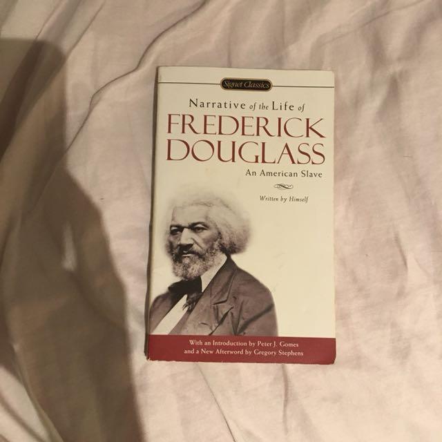 Narrative of the life of Fredrick Douglas