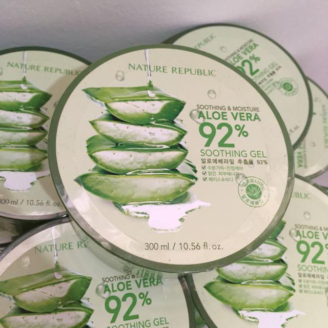 Nature Republic 92% Aloe Vera Soothing Gel