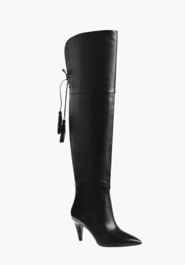 New in box Leather over the knee boots (Nine West)