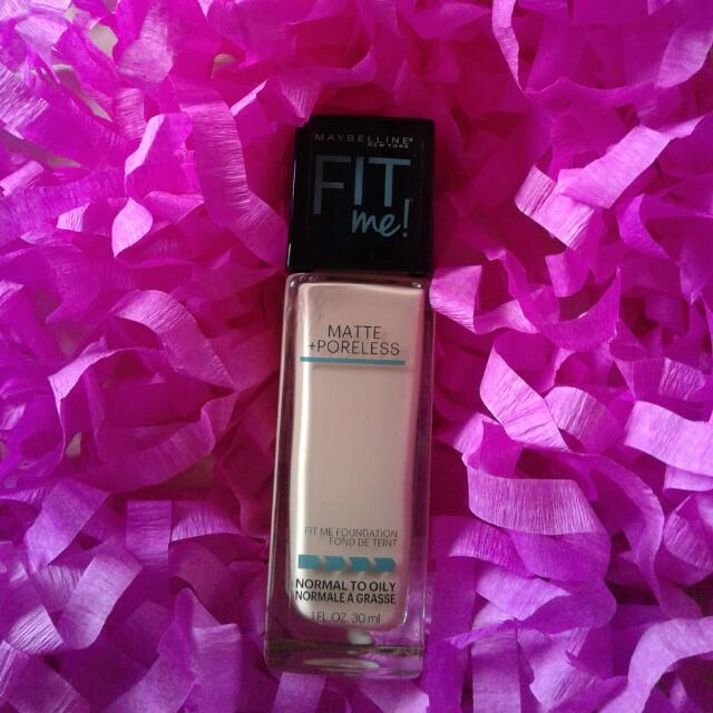 NEW Maybelline Fit Me Matte Poreless Foundation