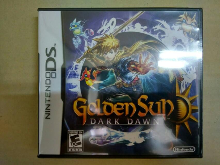 NEW NDS Golden Sun Dark Dawn