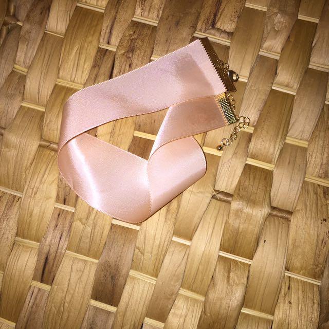 Pink Choker Necklace