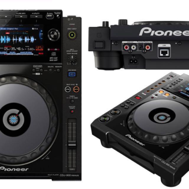 Pioneer CDJ-900NXS NEXUS x 2 (Black)