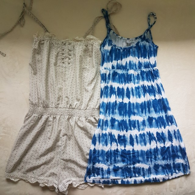 Playsuit and Dress