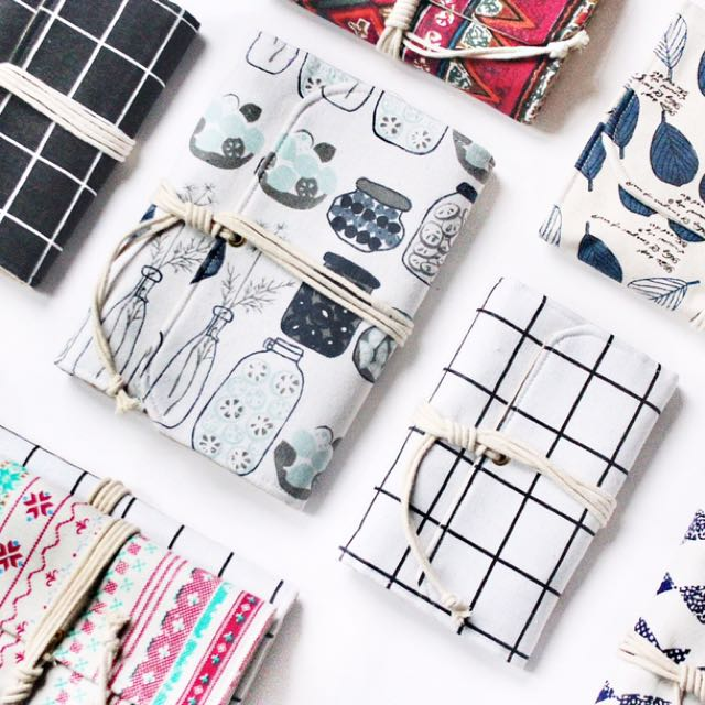 [PREORDER] Zakka Linen Clothes 2018 Journal / Notebook