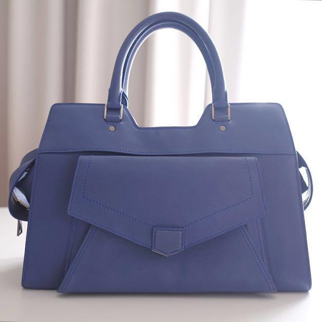 Proenza Schouler PS 13 Blue Bag