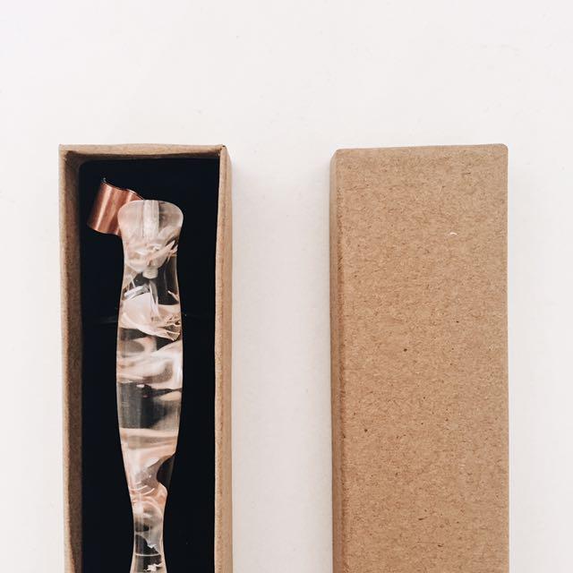 [READY STOCK] Glass Jelly Nib Pen Holder