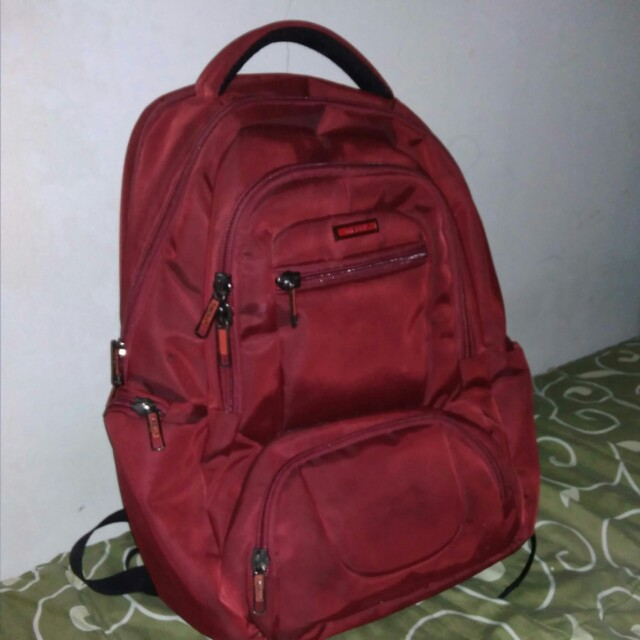 Red backpack b63e71ff86