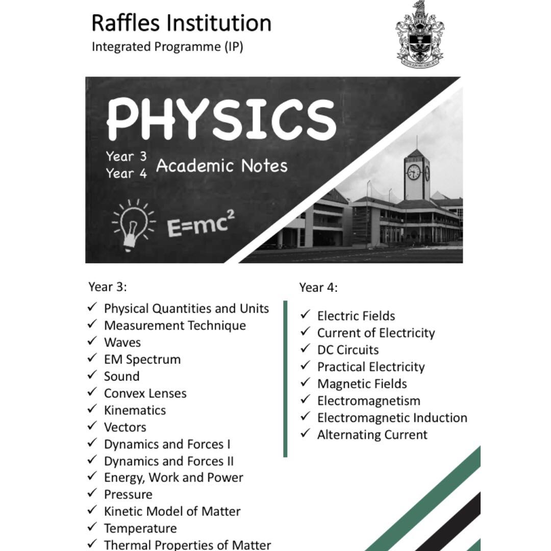 Current notes physics array ri physics notes books u0026 stationery textbooks on carousell rh sg carousell com fandeluxe Image collections