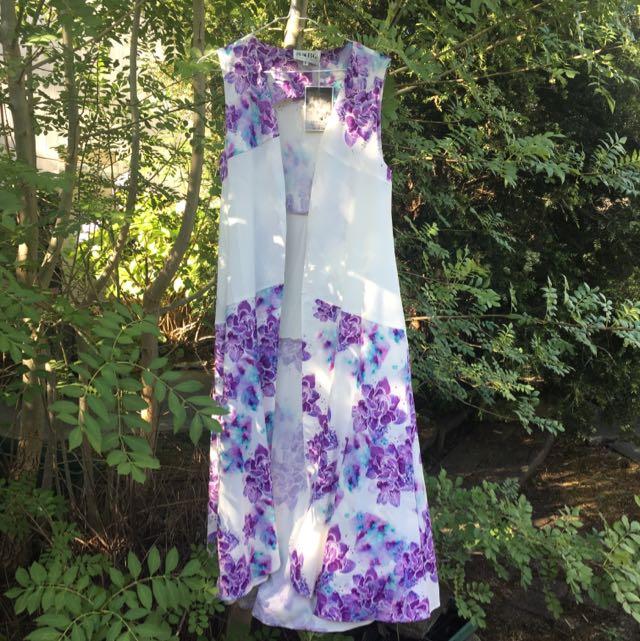 Sabo Skirt Kimono