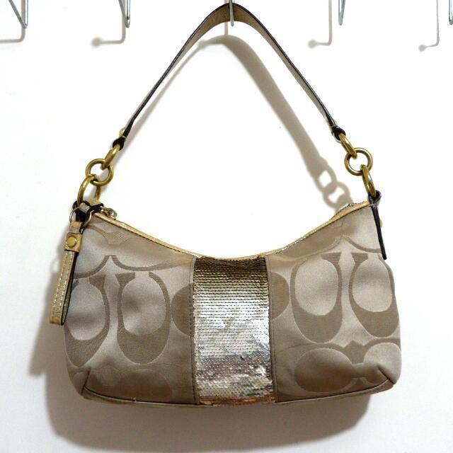 SALE!!! Authentic Coach Sequin Demi Handbag ❤❤❤
