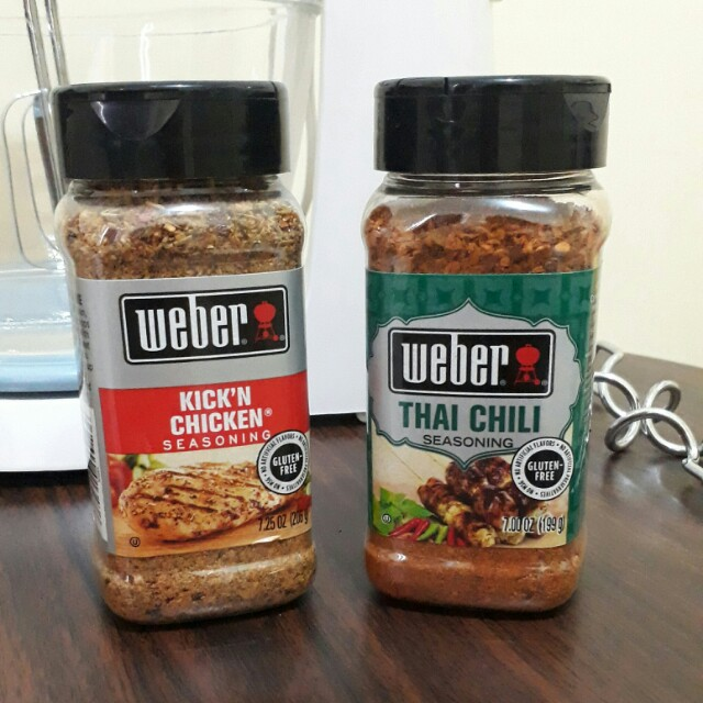 Sale!! Weber Spices (New & Sealed)