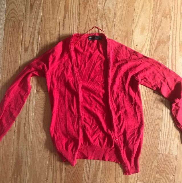 *SALE* Zara Pink Cardigan Sweater