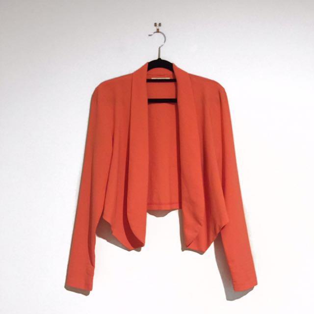 SASS Coral Blazer Size 8