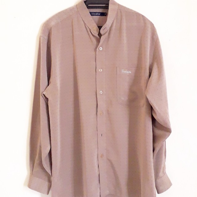 Crocodile Long Slv Shirt