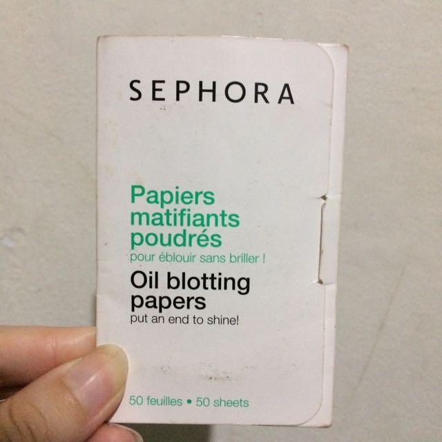Sephora Oil Blotting Papers