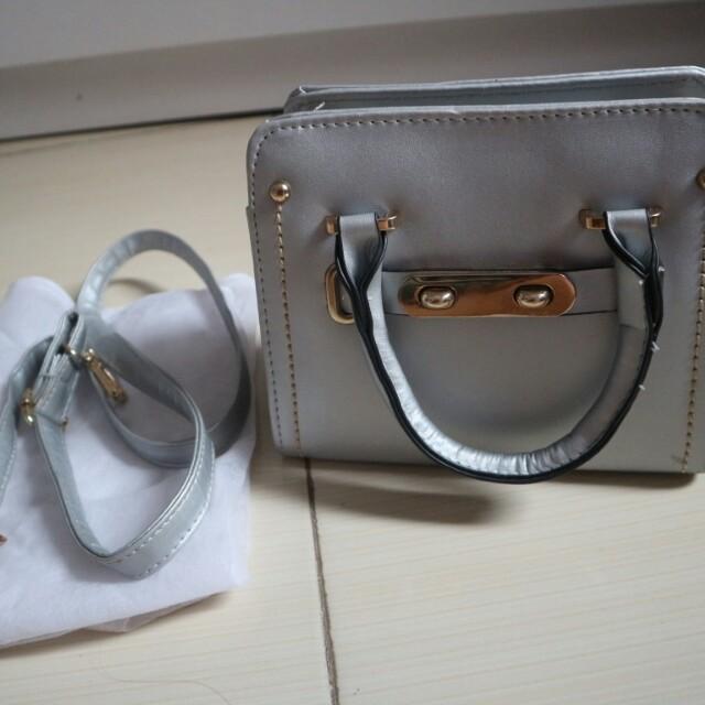 Sling bag Silver Import