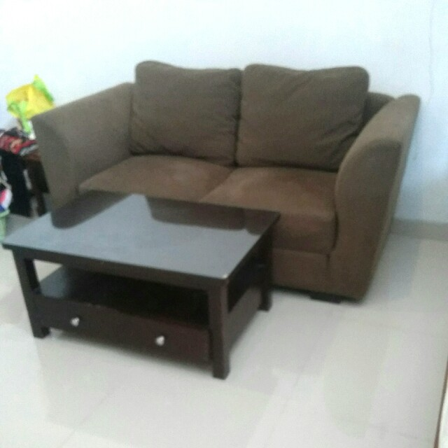 Sofa 2 Seater Big Good Quality