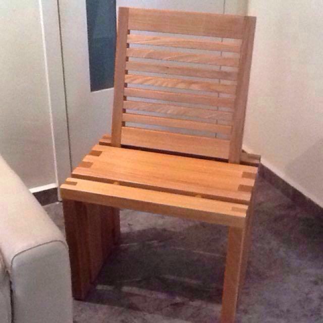 Solid Teak Side Table Stool Chair Johor Bahru Singapore