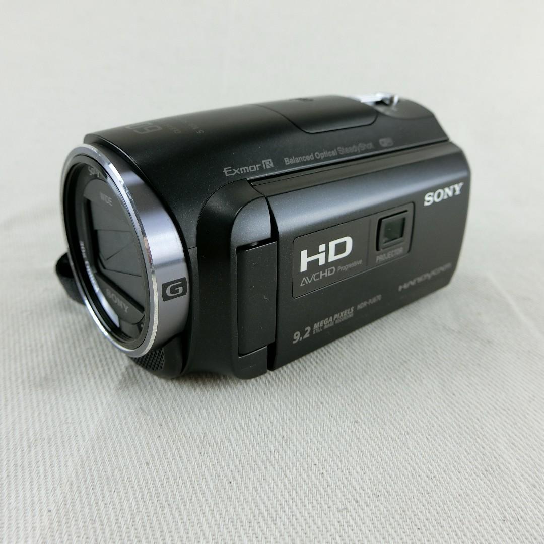 SONY PJ670 DV數位攝影機 內建32G記憶體 投影功能 防手震 盒裝