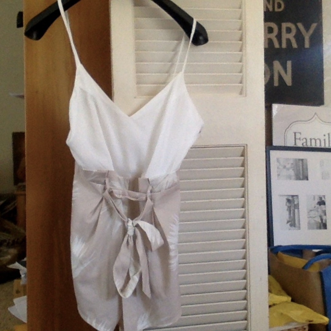 Summer Playsuit (size 10-12)