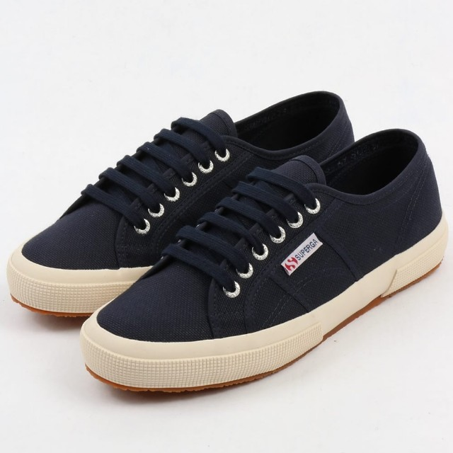 Superga Navy Blue 2750, Women's Fashion