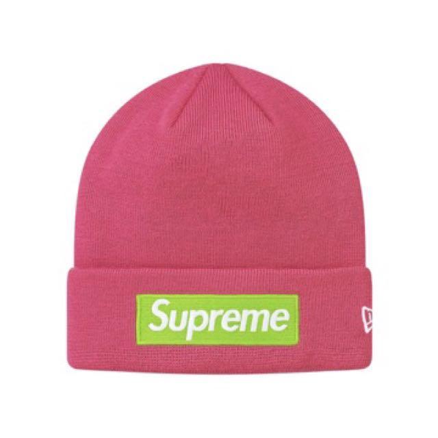 568bf52d3617a Supreme New Era Box Logo Beanie